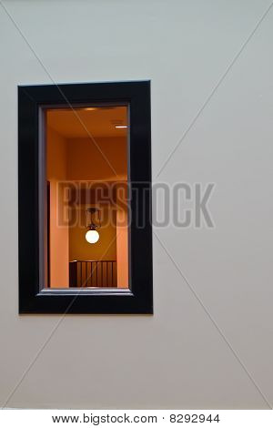 Look into the window