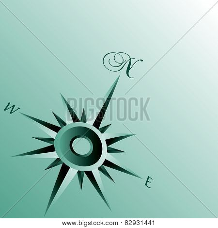 Abstract Compass Background