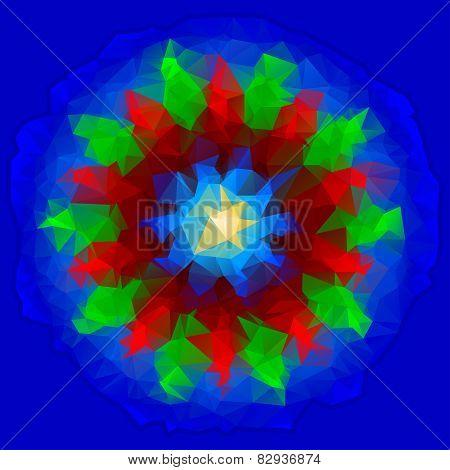 Abstract Polygon Vane