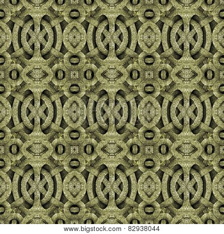 Digital Islamic Arabesque Art Pattern