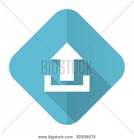 upload flat icon