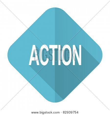 action flat icon