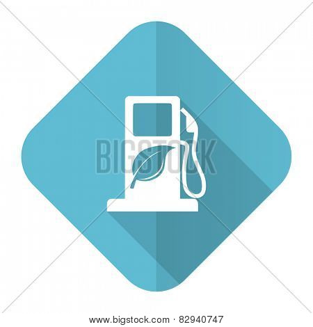 biofuel flat icon bio fuel sign