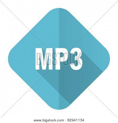 mp3 flat icon