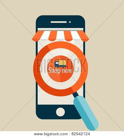 E-commerce ideas with Online store