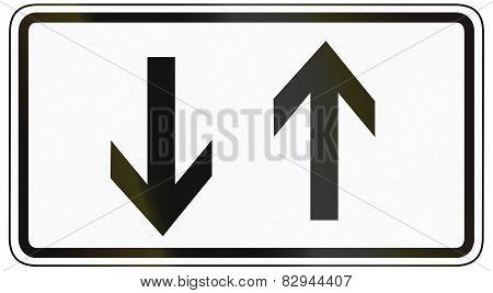 Opposing Arrows