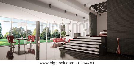 Modern Apartment Panorama 3D