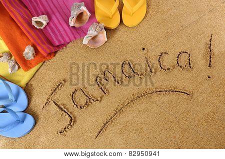 Jamaica Beach Background