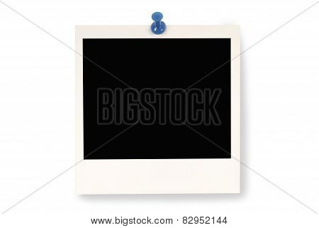 Blank Instant Picture Print