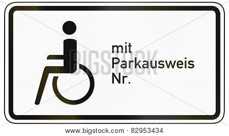 Disabled With Permit