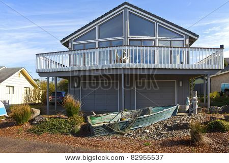 Home Architecture In Lincoln City Oregon.