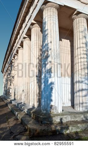Columns Of Old Church