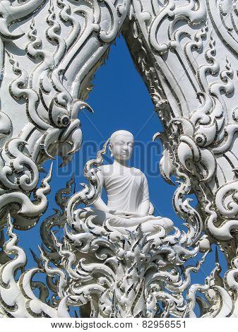Buddha In Temple Gate, Chiang Rai, Thailand