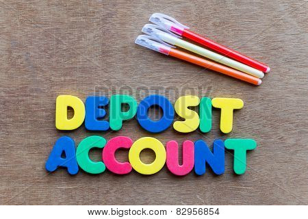 Deposit Account