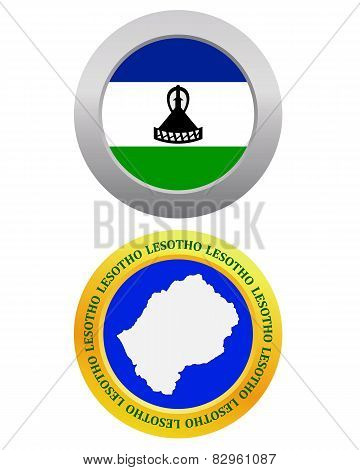 Button As A Symbol  Lesotho