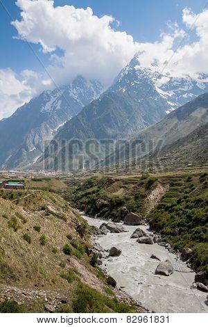 The Alakananda and the Himalayas