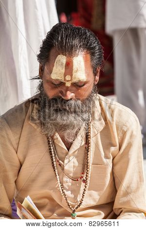 A Hindu priest