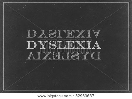 Chalk Drawing -  Dyslexia