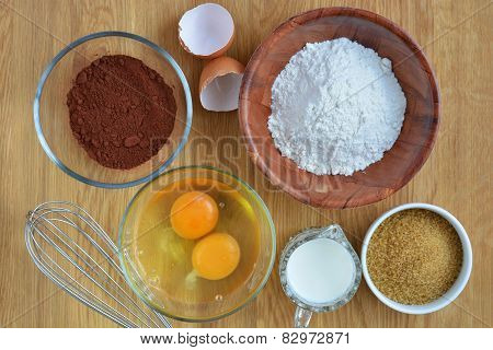 Ingredients for a Cake