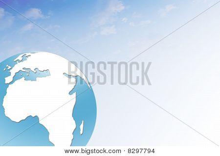 Blueglobeskybg