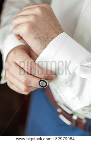 Groom On Wedding