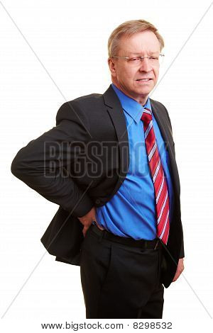 Manager With Kidney Pain