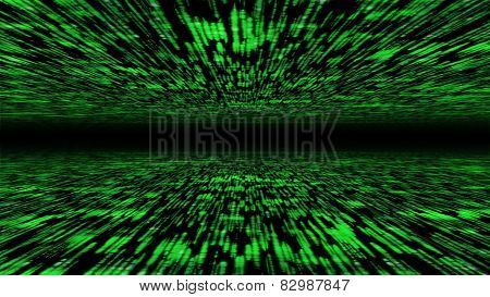 Matrix 3D - Flying Through Energized Cyberspace