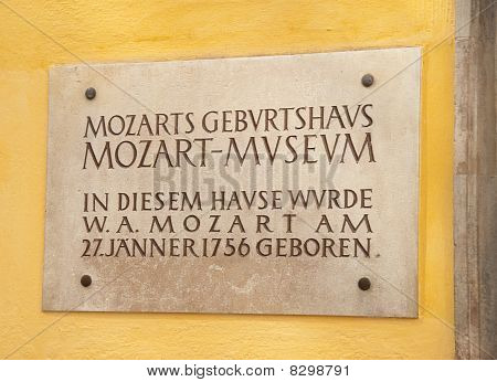 The Mozart Birthhouse