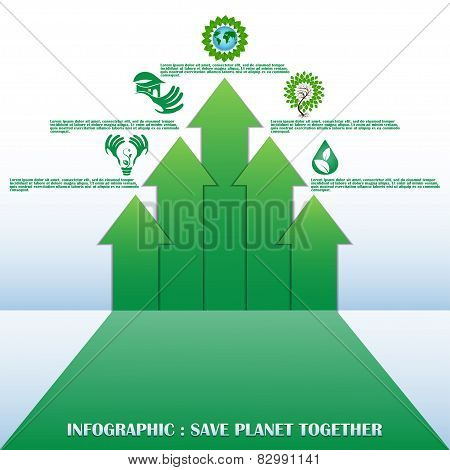 Ecology concept with design