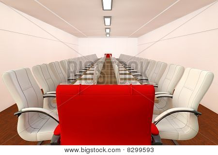 Conference Room In 3D
