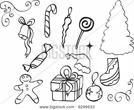Christmas Icons.eps