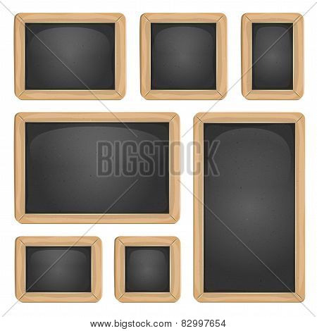 School Blackboard Set