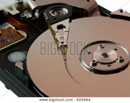 Hard disk binary