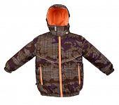 foto of jupe  - Winter warm jacket isolated on white background - JPG