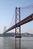 The 25 De Abril Bridge, Lisbon