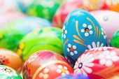 image of traditional  - Handmade Easter eggs collection - JPG
