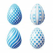 ������, ������: Isolated Easter eggs