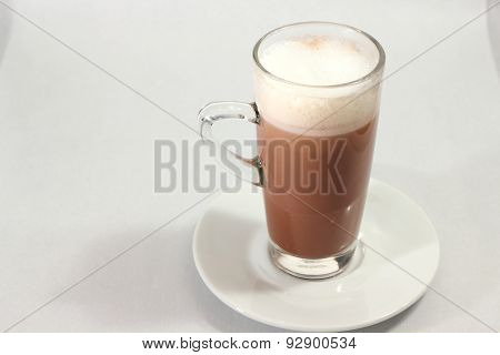 Iced Cocoa In A Glass