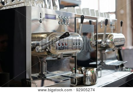 Italian espresso machine, restaurant equipment