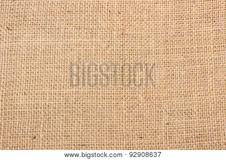 Jute As Background Texture
