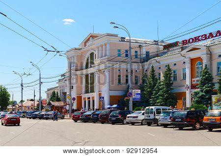 Railway Station In Gomel, Belarus