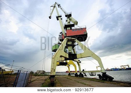 Industrial Port Cranes For Containers