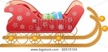 Sleigh/ Sled - Christmas