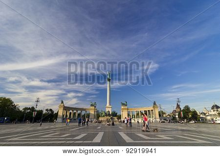 Heroes' Square - Budapest