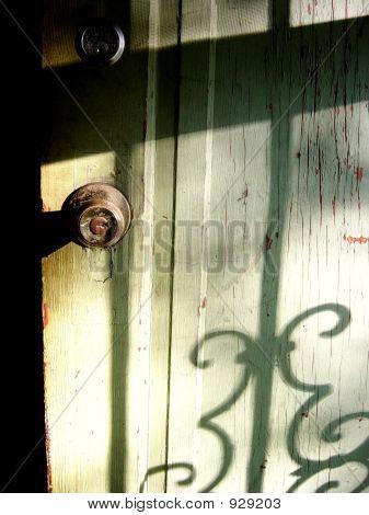Aged Door