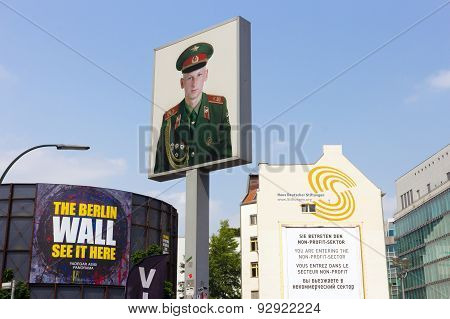 Checkpoint Charlie Portrait
