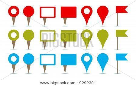 Mapas de Pins