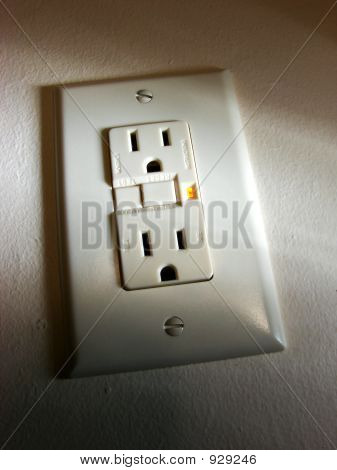 GFCI Ground Fault Interrupter Circuit Outlet
