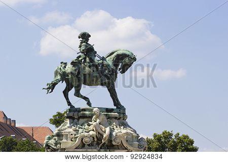Statue Of Budapest