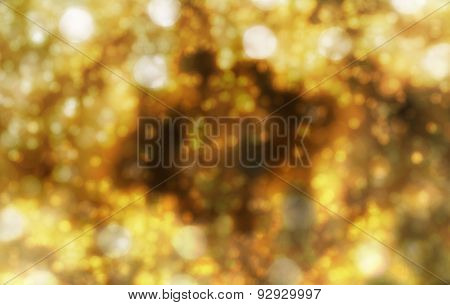 Glittered Sparkling space